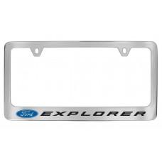 Ford - Explorer  W / 1 Logo - Chrome Plated Brass