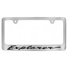 Ford - Explorer  - Chrome Plated Brass - Script