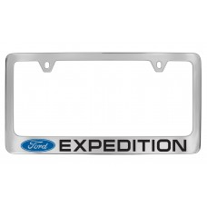 Ford - Expedition  W / 1 Logo - Chrome Plated Brass