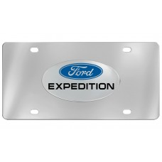 Ford -Expedition With Logo Emblem  Attached To Stainless Steel Plate