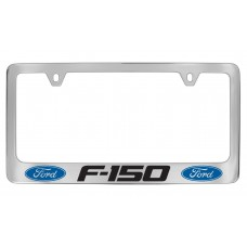 Ford - F-150  W / 2 Logos - Chrome Plated Brass