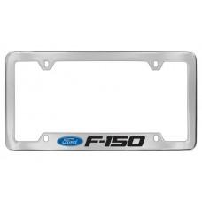 Ford - F-150  W / 1 Logo - Bottom Engraved - Chrome Plated Brass