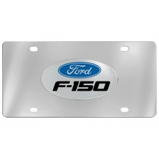 Ford - F-150  With Logo Emblem  Attached To Stainless Steel Plate