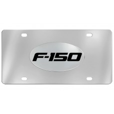 Ford - F-150 - No  Logo Emblem  Attached To Stainless Steel Plate