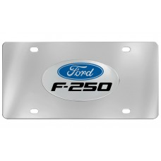 Ford - F-250 - With  Logo Emblem  Attached To Stainless Steel Plate