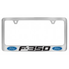 Ford - F-350  W / 2 Logos - Chrome Plated Brass
