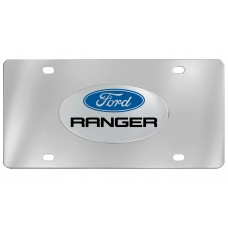 Ford - Ranger - With  Logo Emblem  Attached To Stainless Steel Plate