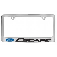 Ford - Escape   W / 1 Logo - Chrome Plated Brass