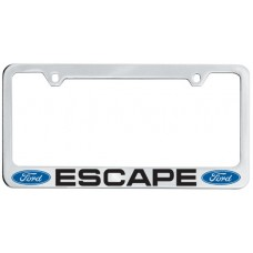 Escape Solid Brass License Plate Frame