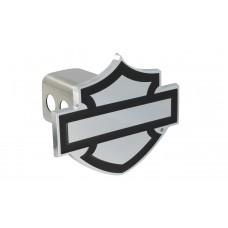 "2"" Std. Post Hitch Cover-Mounted Plain Bar & Shield Emblem"