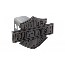 "2"" Std. Post Hitch Cover- Hitch Cover W/Black Nickel B&S Emblem"