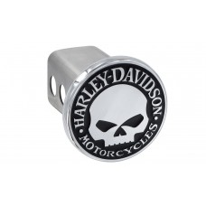 """2"""" Std. Post Hitch Cover Kit-With  """"Willie G. Skull"""" Emblem"""