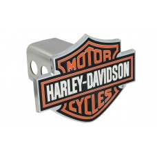"""2"""" Std. Post Hitch Cover-Mounted 3-Color Bar And Shield Emblem."""