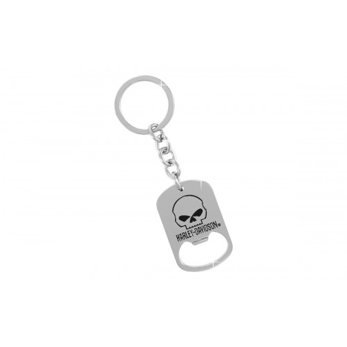 harley davidson keychain from auto plates. Black Bedroom Furniture Sets. Home Design Ideas