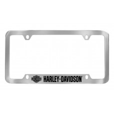 Flipped Bar And Shield License Frame