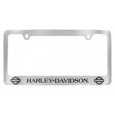 Plain Bar And Shield License Frame