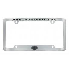 Flipped V-Rod License Frame