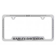 License Frame - H-D /Bottom,Harley-Davidson ® Wordmark/ Top.