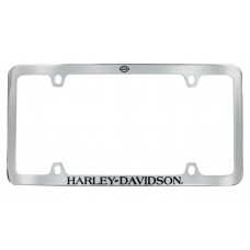 Thin Rim Bar And Shield License Frame