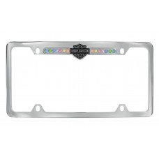 Top Frame - With Multi - Color Swarovski Crystals B&S Insert