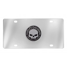 "Front Plate - Chrome Front Plate W/""Willie G. Skull"" Emblem"