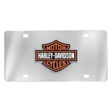 Front Plate - 3 Color Bar And Shield Emblem License Plate