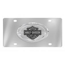 Harley Davidson 3D B&S Oval Emblem