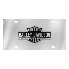 Harley Davidson Vintage Barfont B&S Logo Trademark Emblem