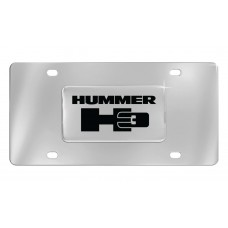 Hummer H3 Emblem Attached To Stainless Steel Plate