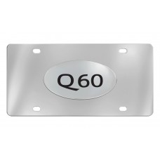 Infiniti -  Q60 - Chrome Plated Brass Emblem Attached To A Stainless Plate