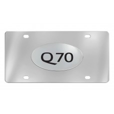 Infiniti - Q70 - Chrome Plated Brass Emblem Attached To A Stainless Plate