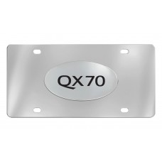 Infiniti - Qx70 - Chrome Plated Brass Emblem Attached To A Stainless Plate