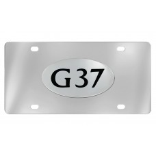 Infiniti - G37 - Chrome Plated Brass Emblem Attached To A Stainless Plate