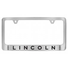 Lincoln W / 2 Logos - Chrome Plated Brass