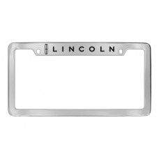 Lincoln - Lincoln W / 1 Logo - Top Engraved - Chrome Plated Brass