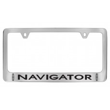 Lincoln - Navigator W / 2 Logos - Chrome Plated Brass