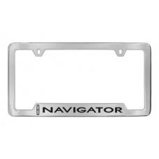 Lincoln - Navigator W / 1 Logo - Bottom  Engraved - Chrome Plated Brass