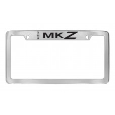 Lincoln - Mkz W / 1 Logo - Top Engraved - Chrome Plated Brass
