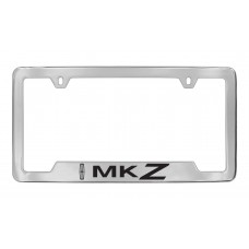 Lincoln - Mkz W / 1 Logo - Bottom Engraved - Chrome Plated Brass