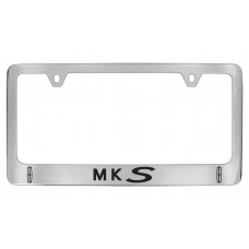 Lincoln - Mks  W / 2 Logos - Chrome Plated Brass