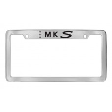 Lincoln - Mks W / 1 Logo - Top Engraved - Chrome Plated Brass