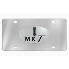 Lincoln- Mkt With Logo *2013 Art Work  - Chrome Plated Brass Emblem Attached To Stainless Plate