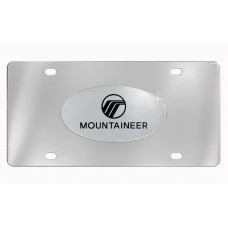 ^Mercury-Mountaineer W/Logo Emblem Attached To Stainless Steel Plate