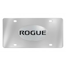 Nissan - Rogue - Chrome Plated Brass Emblem Attached To A Stainless Plate