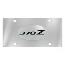 Nissan - 370z - Chrome Plated Brass Emblem Attached To A Stainless Plate