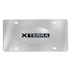 Nissan - Xterra - Chrome Plated Brass Emblem Attached To A Stainless Plate