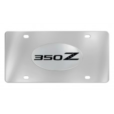 Nissan - 350z - Chrome Plated Brass Emblem Attached To A Stainless Plate