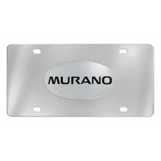 Nissan - Murano - Chrome Plated Brass Emblem Attached To A Stainless Plate