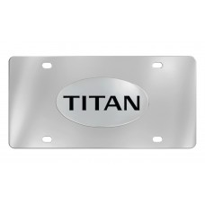 Nissan - Titan - Chrome Plated Brass Emblem Attached To A Stainless Plate