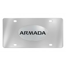 Nissan - Armada - Chrome Plated Brass Emblem Attached To A Stainless Plate